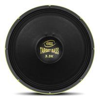 Eros Alto Falante Woofer E-18 Target Bass 3.3k 1650w Rms 18 Polegadas -