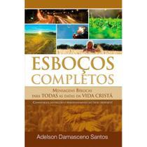 Esboços Completos - Adelson Damasceno Santos - Ad Santos -