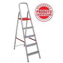 Escada Aluminio Botafogo  7d Domestica -