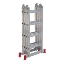 Escada Articulada 3X4 em Alumínio 12 Degraus Botafogo -