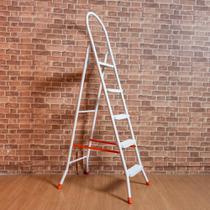 Escada com 5 Degraus Maxiutil Branca 45x10cm - ETNA