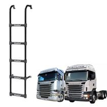 Escada Scania Highline/Streamline 5 Degraus Preto1650mm - Fabbof