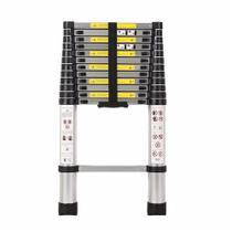 Escada Telescópica Multifuncional Alumínio Prizi 13 Degraus 3.8m - KME1038 -