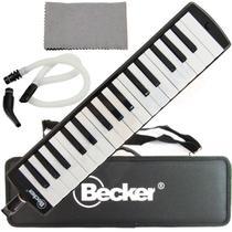 Escaleta Melodica 32 Teclas 3 Bocais Estojo Becker -