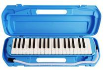 Escaleta Pianica Regency - 37 teclas - Azul - c/ Bocal e Case Plástico -