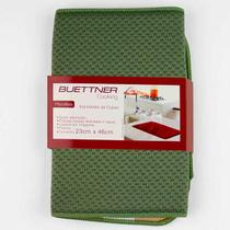 Escorredor Buettner P/ Copos Liso Microfibra 23x46cm Musgo -