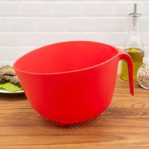 Escorredor de Alimentos Vermelho 22cm - Sanremo -