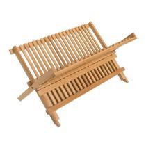 Escorredor de Louça Bambu 43 cm x 33 cm - Home Style -