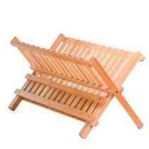 Escorredor de Louça de Bambu 42X32X26CM - Utilplast