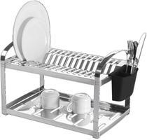 Escorredor De Louças Em Aço Inox - Brinox -