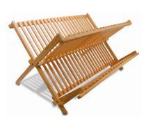 Escorredor De Pratos Dobrável Em Bambu Natus YOI -