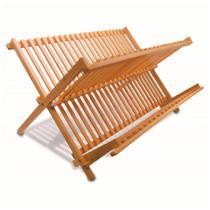 Escorredor de pratos em bambu 46x34x23,5cm - Tyft