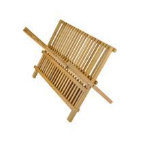 Escorredor de Pratos Em Bambu 51296 - Batiki