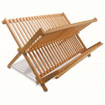 Escorredor de pratos em bambu dobrável - Tyft