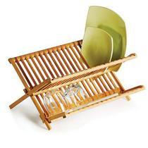 Escorredor de Pratos em Bambu - Welf