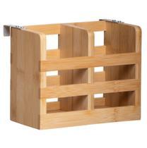 Escorredor De Talheres Bambu Para Cozinha Pia Orgânico - Yoi -