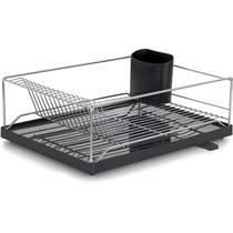 Escorredor Louça Dry 16 pratos com bandeja coletora - Forma Inox -