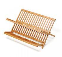 Escorredor Louças Pratos Bambu Dobrável Quioto - Welf