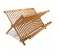 Escorredor Secador De Louça Prato Talher Em Bambu Ecológico - Plug Lar
