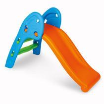 Escorregador Infantil Laranja e Azul HomePlay 8042 -