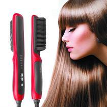Escova alisadora de barba para homens, alisador de cabelo de cerâmica multifuncional, modelador de cabelo rápido - ConnectCell