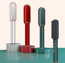 Escova Alisadora Secadora cabelo Seca Alisa Modela bivolt - ConnectCell