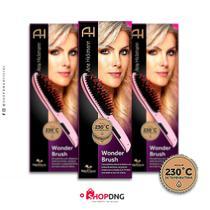 Escova Alisadora Wonder Brush Ana Hickmann Relaxmedic - Relaxbeauty