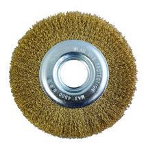 Escova de Aço Circular 6 POL x 7/8 POL para Moto Esmeril MTX -