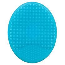 Escova de Banho Baby em Silicone Azul - Buba -