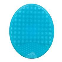 Escova De Banho Em Silicone Azul - Buba -