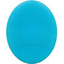 Escova De Banho Em Silicone Azul/Rosa - Buba -