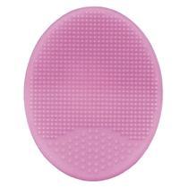 Escova De Banho Em Silicone Rosa - Buba -