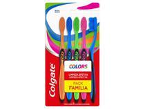 Escova de Dente Colgate Colors 5 Unidades -