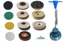 Escova de Pelo para Enceradeira 400mm - Sales