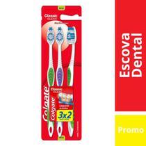 Escova Dental Colgate Classic Clean Leve 3 Pague 2 -