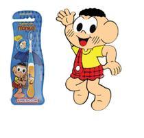 Escova dental Infantil Cerdas Macias com Capa Protetora A Turma da Mônica - Cascão - Frescor