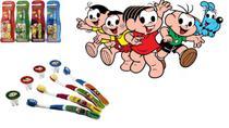 Escova dental Infantil Cerdas Macias com Capa Protetora A Turma da Mônica - Mônica - Frescor