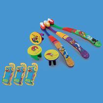 Escova Dental Infantil Com Capa PicaPau 12 unidades - Frescor -