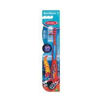 Escova dental infantil condor hot wheels macia (+5 anos) - 3170-0