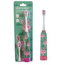 Escova Dental Infantil Elétrica Coelho Kids Healt Pro Multilaser - Multikids Baby