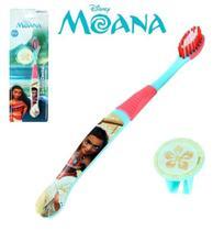 Escova Dental Infantil Macia Com Protetor De Cerda Moana - Etident -