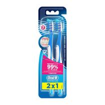 Escova Dental Oral-B Pro-Saúde 7 Benefícios 35 2 Unidades - Oral b