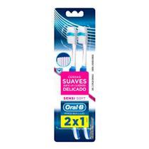 Escova Dental Oral-B Pro-Saúde Sensi-Soft - 2 Unidades - Oral -B
