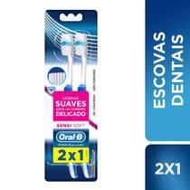 Escova Dental Oral-B Pro-Saúde Sensi-Soft Macia 35 Leve 2 Pague 1 - Oral B