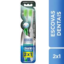 Escova Dental Oral-B Pró Saúde Ultrafino 2 Unidades - Oral b