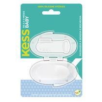 Escova Dental Para Bebê Kess Massageadora Boca e Gengiva -