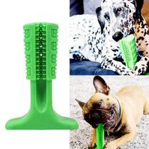 Escova Dentes Mordedor Medio Canina Remove Tartaro Cachorro Cao Pet Limpeza Bucal - Ideal