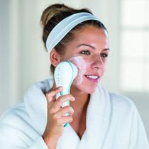 Escova Elétrica Limpeza Facial Massageadora Esfoliação Spa - S/m -
