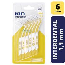 Escova Interdental KIN - MINI 1,1 MM - 6 unidades -