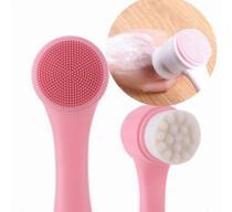 Escova Limpeza Facial 2 Em 1 Aparelho Massagem Esponja - Magic Make